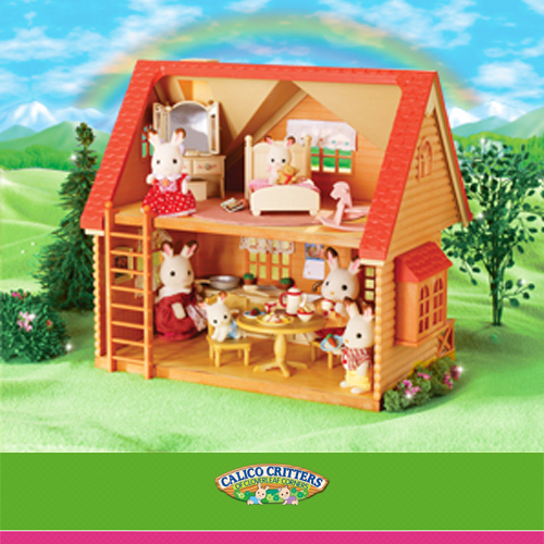 Calico critters toy traders 150 19880 for Cozy canadian cottage